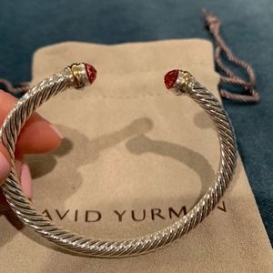 David Yurman Bracelet Tourmaline Gold 14k 5mm